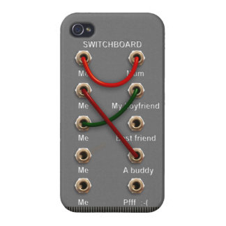 Switchboard iPhone 4/4S Cover
