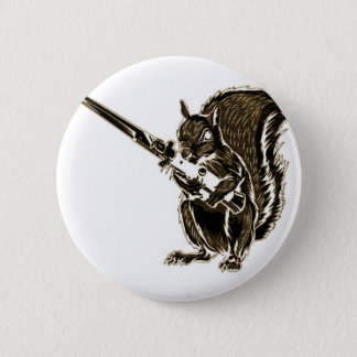 Switchy the Squirrel 2 Inch Round Button