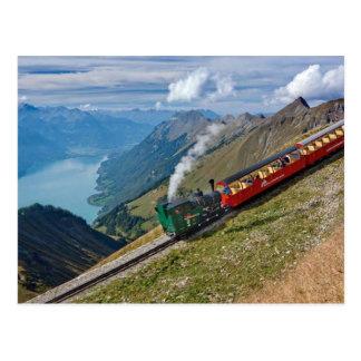 Switzerland Alps Postcard