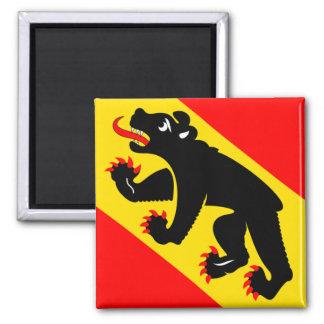 Switzerland Bern Flag Fridge Magnet
