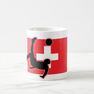 Switzerland Bicycle Kick Coffee Mug