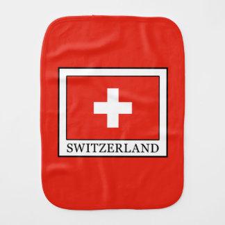 Switzerland Burp Cloth