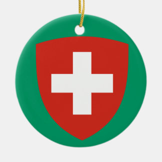 SWITZERLAND*-  Christmas Ornament