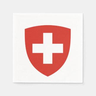 Switzerland Coat of arms Paper Napkin