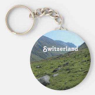 Switzerland Countryside Keychain