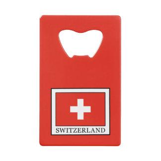 Switzerland Credit Card Bottle Opener