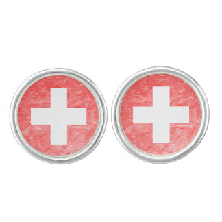 Switzerland Cuff Links
