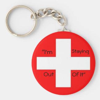 Switzerland - Customized Keychain