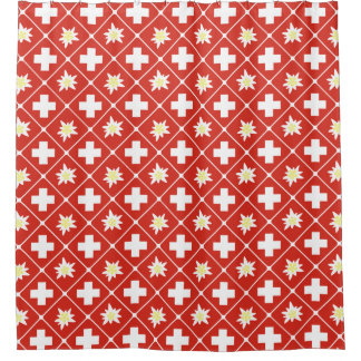 Switzerland Edelweiss pattern
