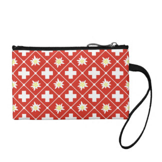 Switzerland Edelweiss pattern Coin Purse