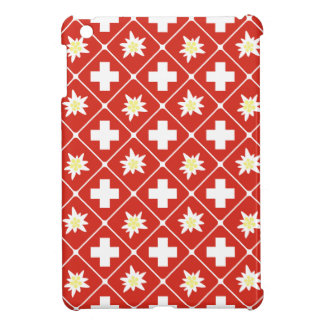 Switzerland Edelweiss pattern Cover For The iPad Mini