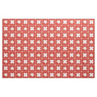 Switzerland Edelweiss pattern Fabric