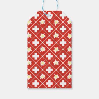 Switzerland Edelweiss pattern Gift Tags