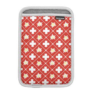 Switzerland Edelweiss pattern iPad Mini Sleeve
