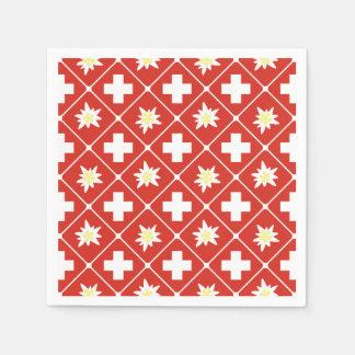Switzerland Edelweiss pattern Napkin
