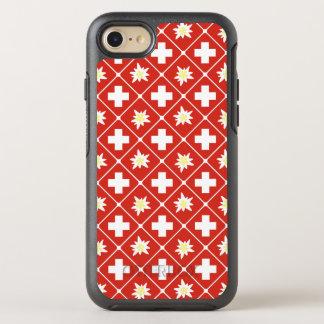 Switzerland Edelweiss pattern OtterBox Symmetry iPhone 8/7 Case