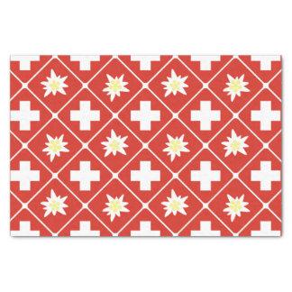 Switzerland Edelweiss pattern Tissue Paper