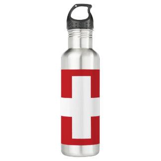 Switzerland Flag 710 Ml Water Bottle