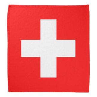 Switzerland Flag Bandana