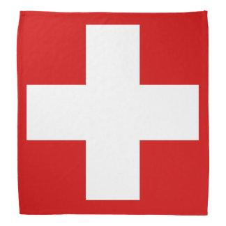 Switzerland Flag Bandanas