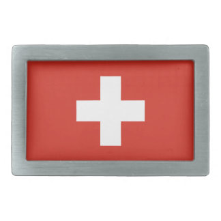 Switzerland Flag Belt Buckle