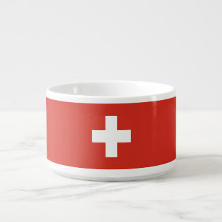 Switzerland Flag Bowl