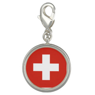 Switzerland Flag Charm