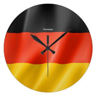 Switzerland flag for Round-Large-Wall-Clock Wallclock