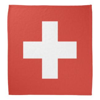 Switzerland Flag Head Kerchiefs