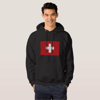 Switzerland Flag Hoodie