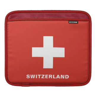 Switzerland Flag iPad Sleeves