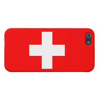 Switzerland Flag iPhone 5/5S Case