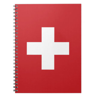 Switzerland Flag Notebooks