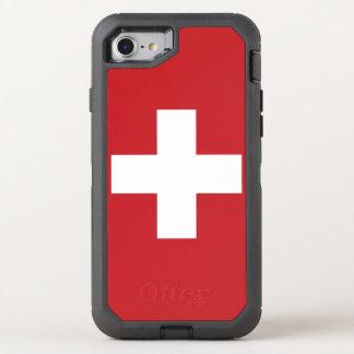 Switzerland Flag OtterBox Defender iPhone 8/7 Case