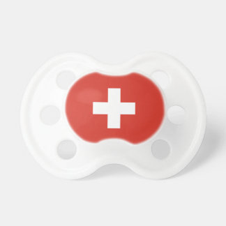Switzerland Flag Pacifier