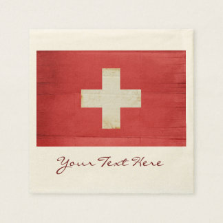 Switzerland Flag Party Napkins