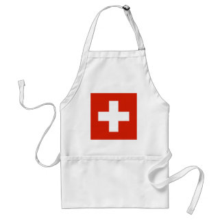 Switzerland Flag Products Standard Apron