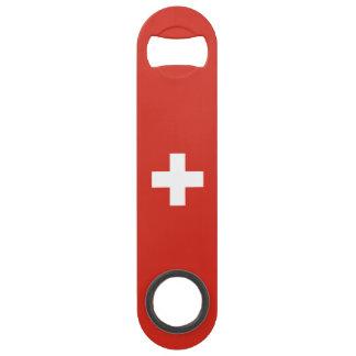 Switzerland Flag Speed Bottle Opener