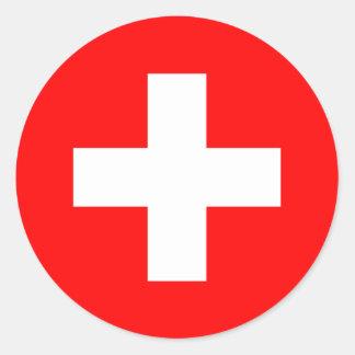 Switzerland Flag Sticker
