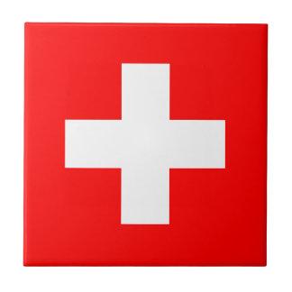 Switzerland Flag Tile