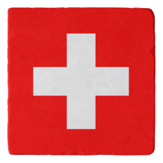 Switzerland Flag Trivet