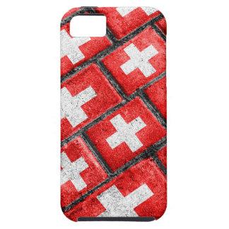Switzerland Flag Urban Grunge Pattern Case For The iPhone 5