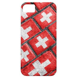 Switzerland Flag Urban Grunge Pattern iPhone 5 Case