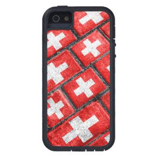 Switzerland Flag Urban Grunge Pattern iPhone 5 Covers