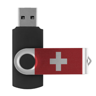 Switzerland Flag USB Flash Drive