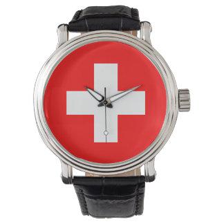 Switzerland Flag Watch