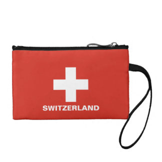 Switzerland Flag Wristlets Wallet