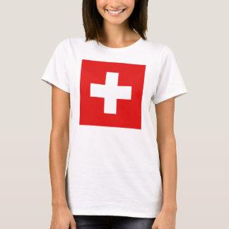 Switzerland Flag x Map T-Shirt