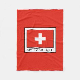 Switzerland Fleece Blanket