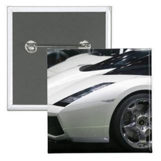 SWITZERLAND, GENEVA: 75th Annual Geneva Auto 11 2 Inch Square Button